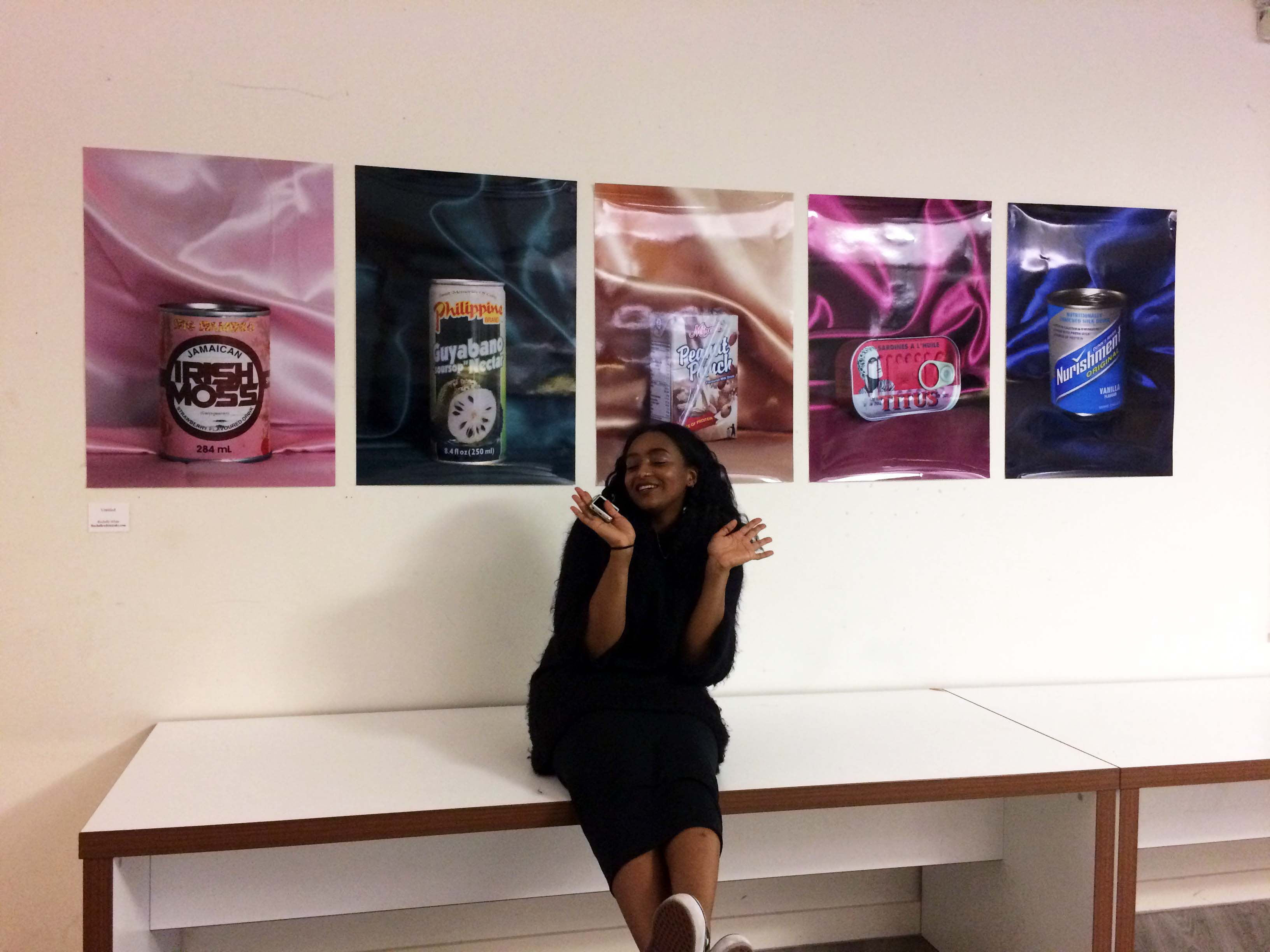 Artist spotlight: Rochelle White and the student-led 'African Migration' exhibition