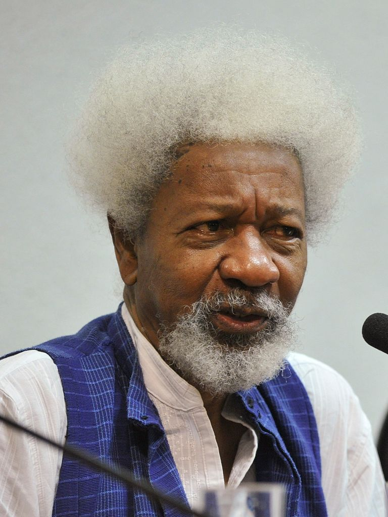 An evening with Wole Soyinka