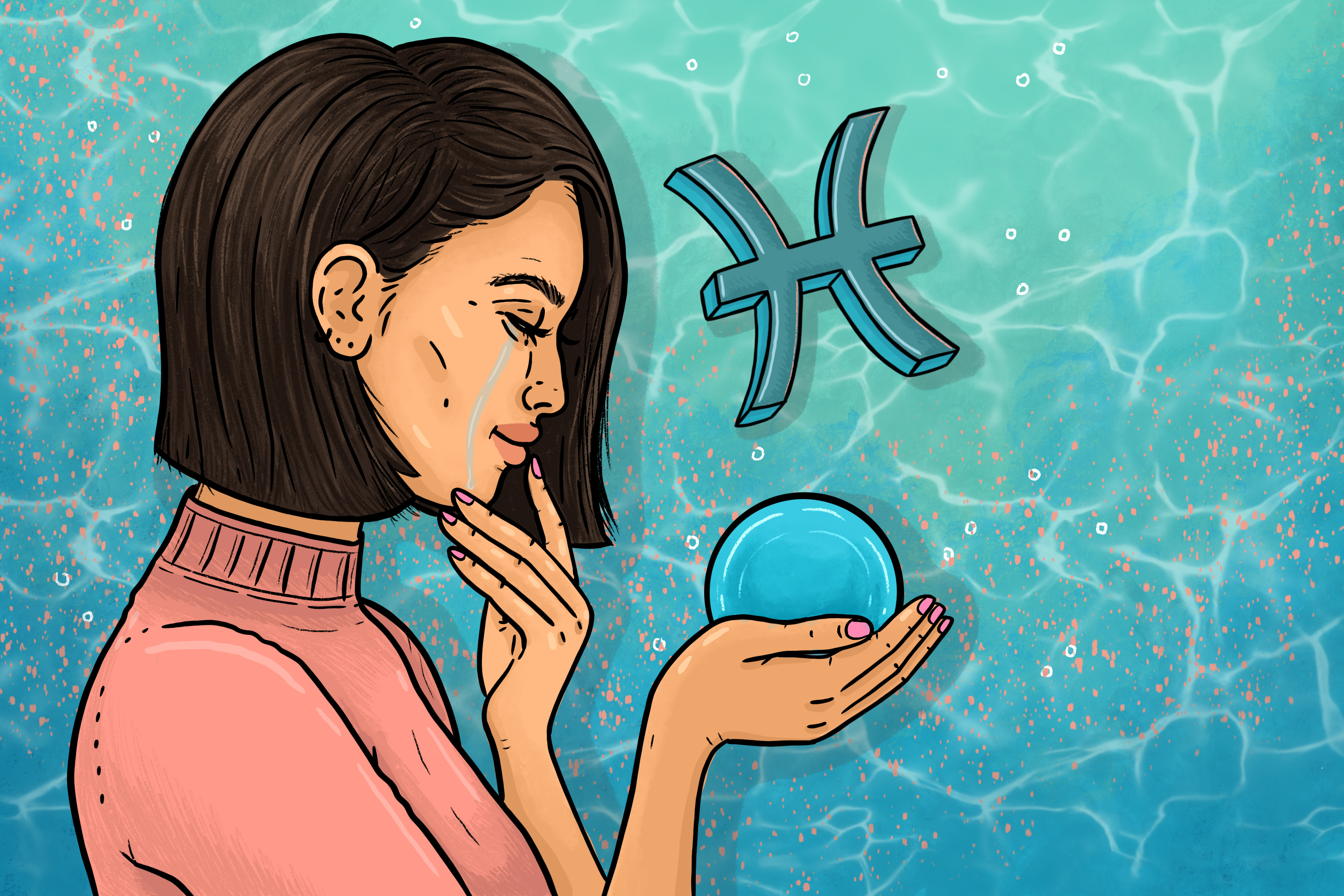 gal-dem monthly horoscopes:  save some love for yourself this Pisces season