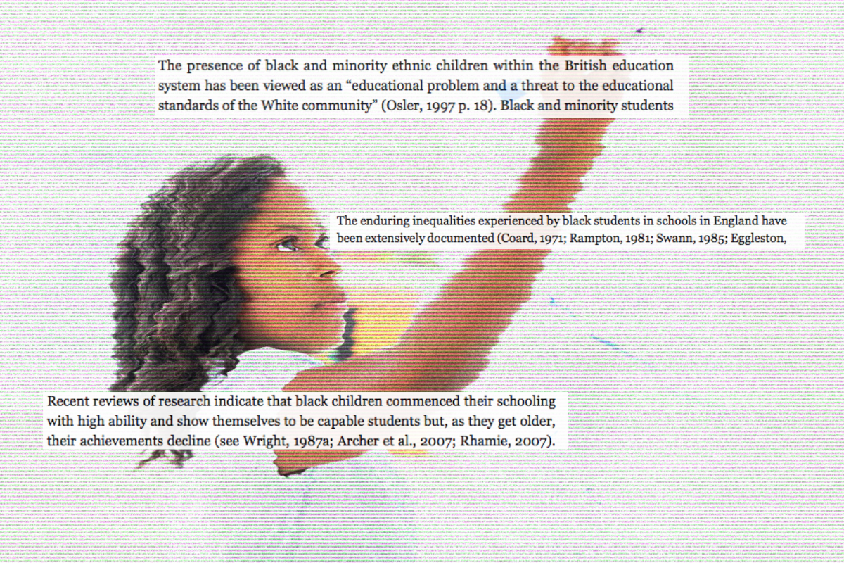 For black students, badly-predicted grades are the tip of the iceberg