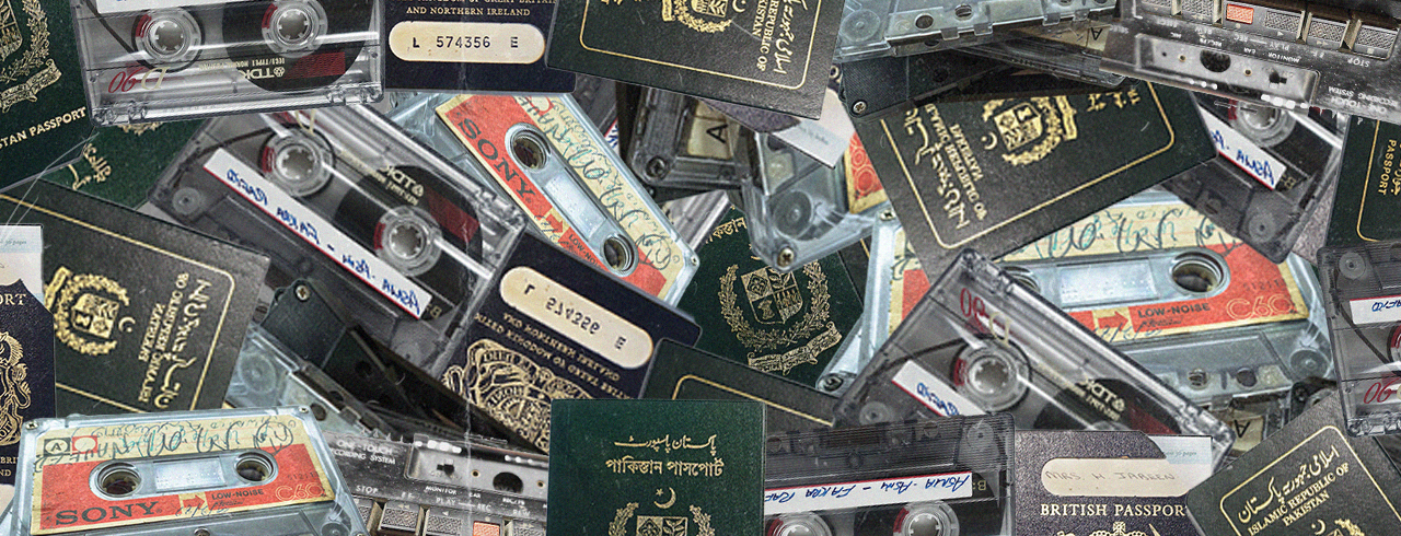 These vintage cassette tapes hold intimate British-Pakistani oral histories