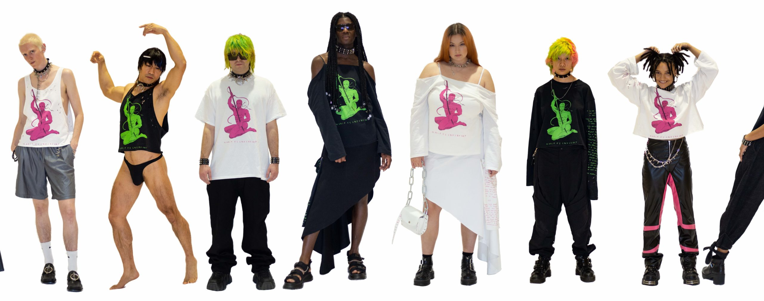 'I'm expanding beyond those attempts to box us', Marikiscrycrycry is reimagining performance art through alt fashion